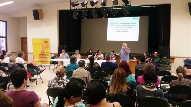 Conferência Municipal irá discutir direitos da pessoa com deficiência
