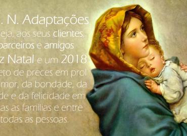 Feliz Natal e um 2018 repleto de preces