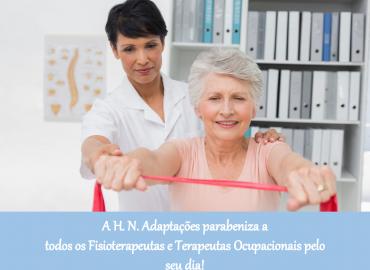 Feliz Dia do Fisioterapeuta e do Terapeuta Ocupacional