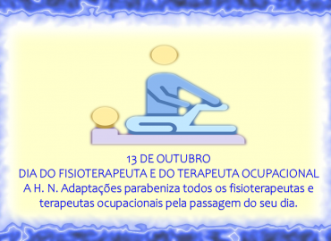 DIA DO FISIOTERAPEUTA E DO TERAPEUTA OCUPACIONAL